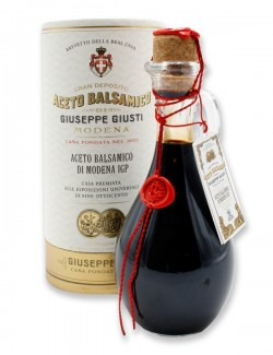 Aceto Balsamico di Modena IGP 2 Medaglie d'Oro Anforina con cappelliera 250 ml