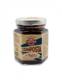 Composta di fragole all' Aceto Balsamico di Modena IGP 120 g
