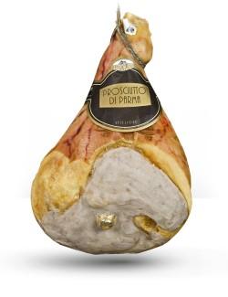 Prosciutto di Parma DOP con osso stagionatura minima 24 mesi 10,5 kg ca - salumificio Leporati