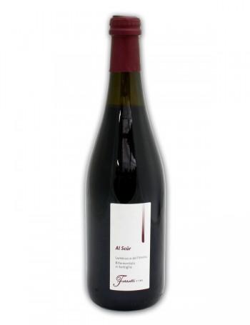 Lambrusco Al Scur - rifermentato in bottiglia - Ferretti Vini 0,75 l