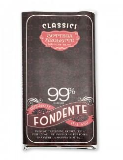 Tavoletta di cioccolato fondente 99%