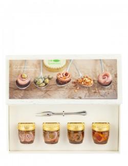 Filetti di alici in confezione regalo 4 x 45 g