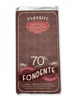 Tavoletta di cioccolato fondente 70%