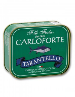 Tarantello di olio rosso di Carloforte in olio di oliva - 350 g