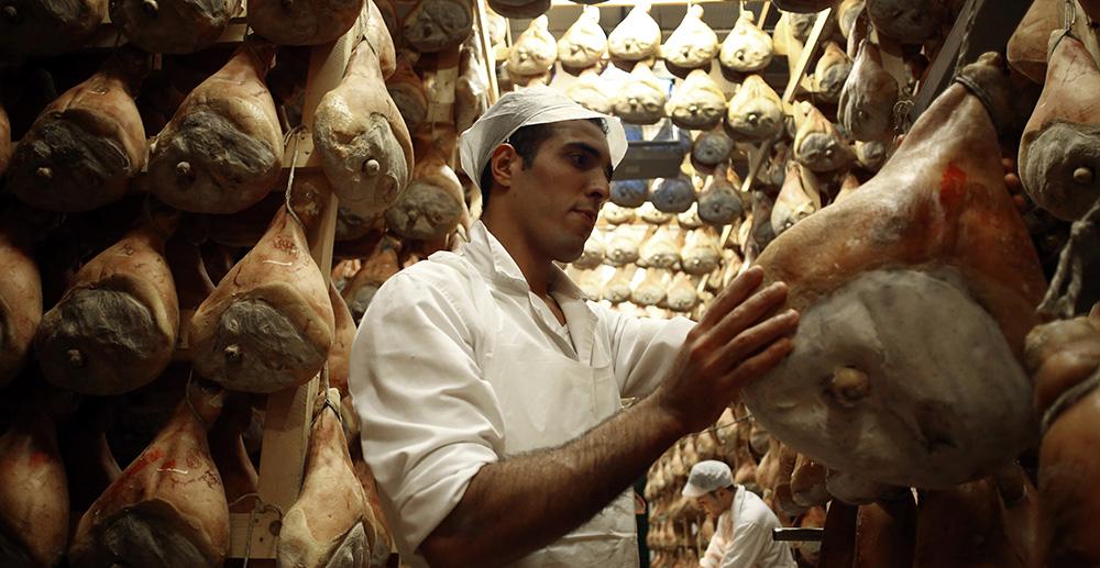 Prosciutto di Parma produzione
