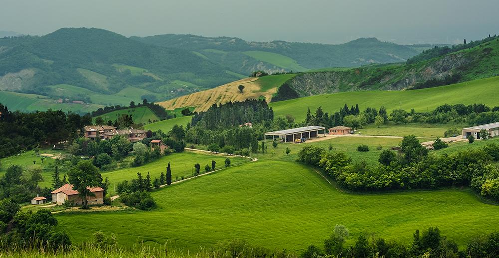 zona di produzione del parmigiano reggiano